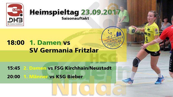 HSG Gedern/Nidda - Saisonauftakt 1. Damen vs. Germania Fritzlar